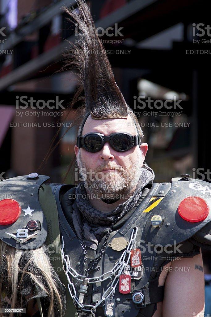 Comic Con International Mad Max Style stock photo