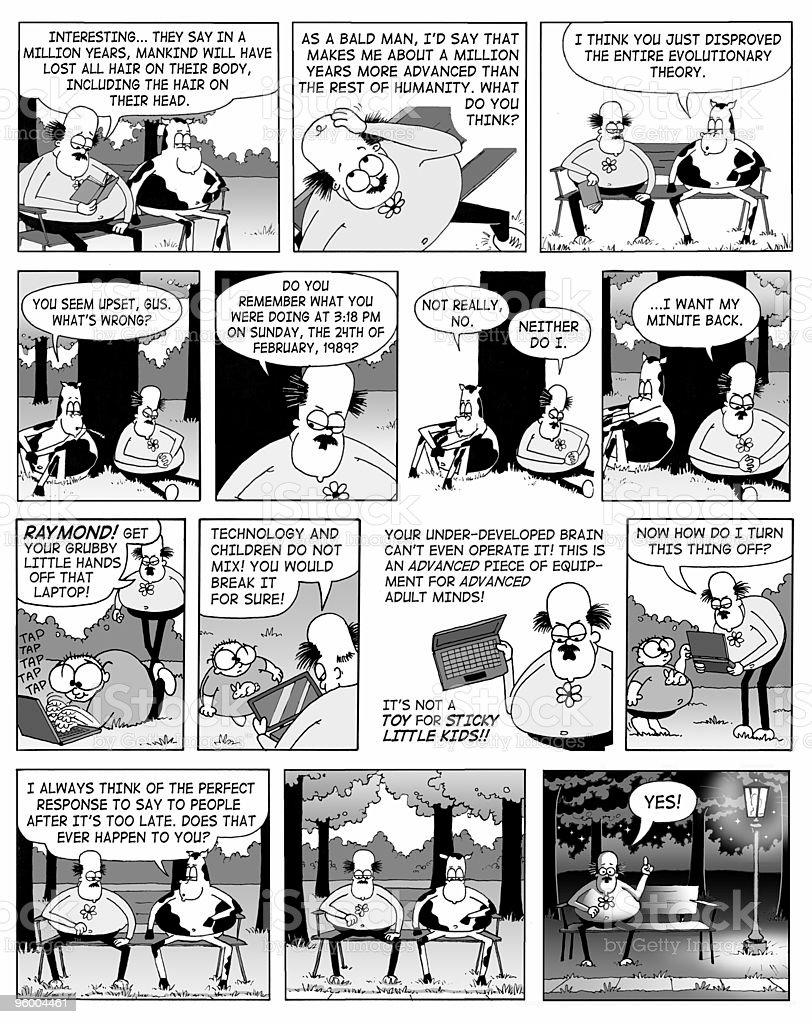 Comic Strips royalty-free stock photo
