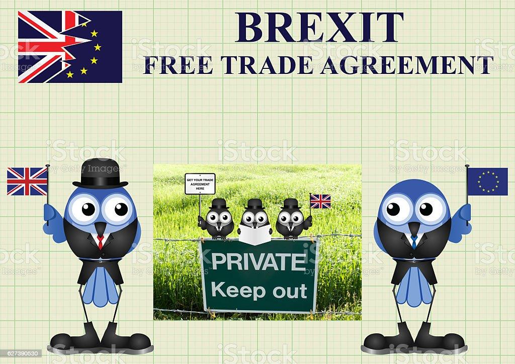 Comical United Kingdom Trade Delegation stock photo