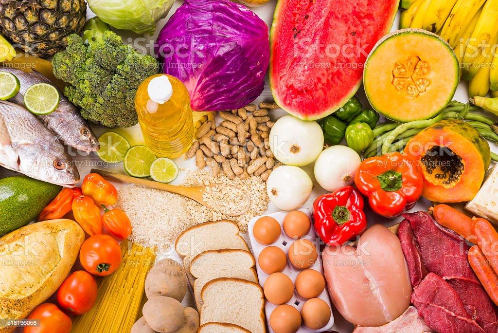 Comida saludable stock photo