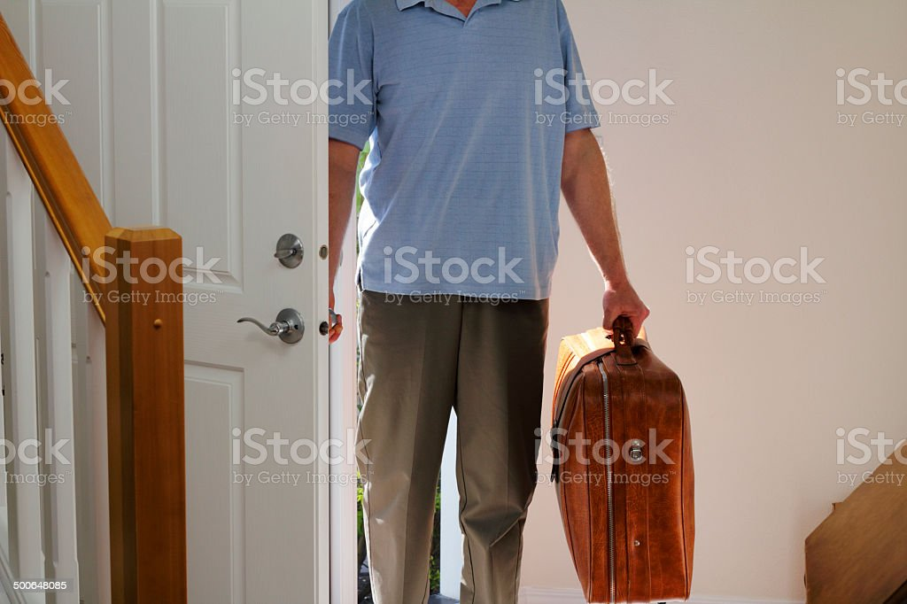 Coming Home stock photo