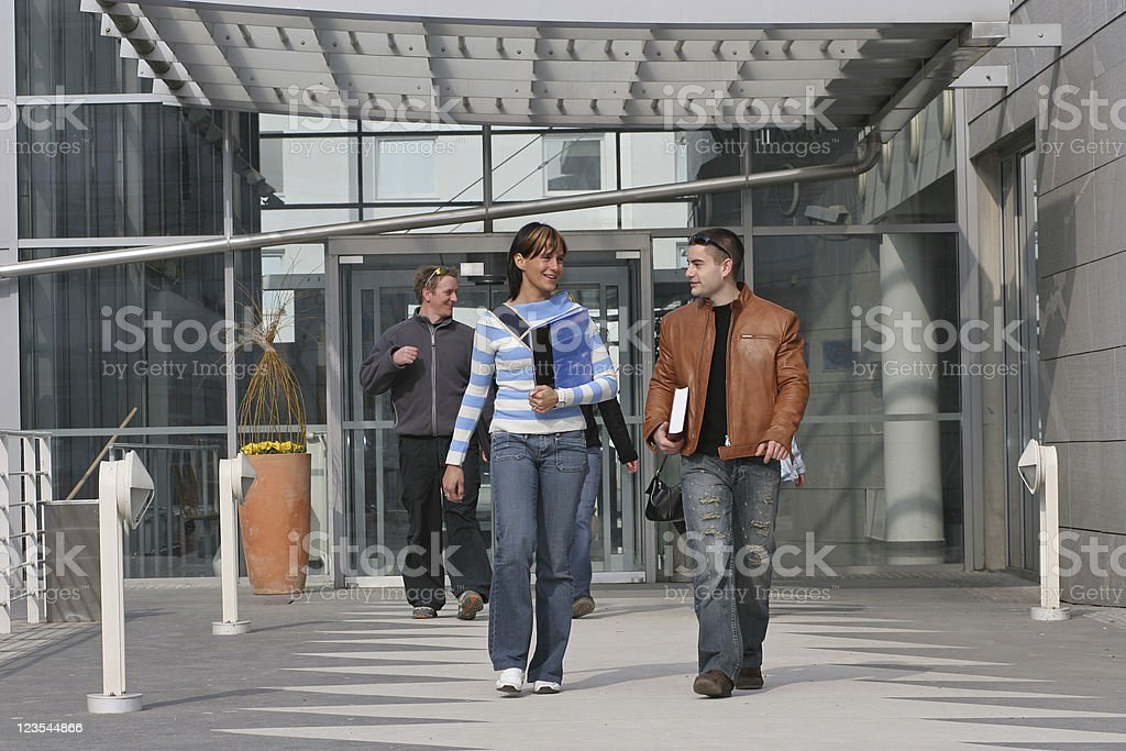 Coming out royalty-free stock photo