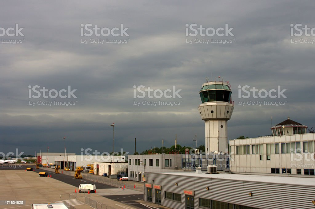 Coming thunderstorm royalty-free stock photo