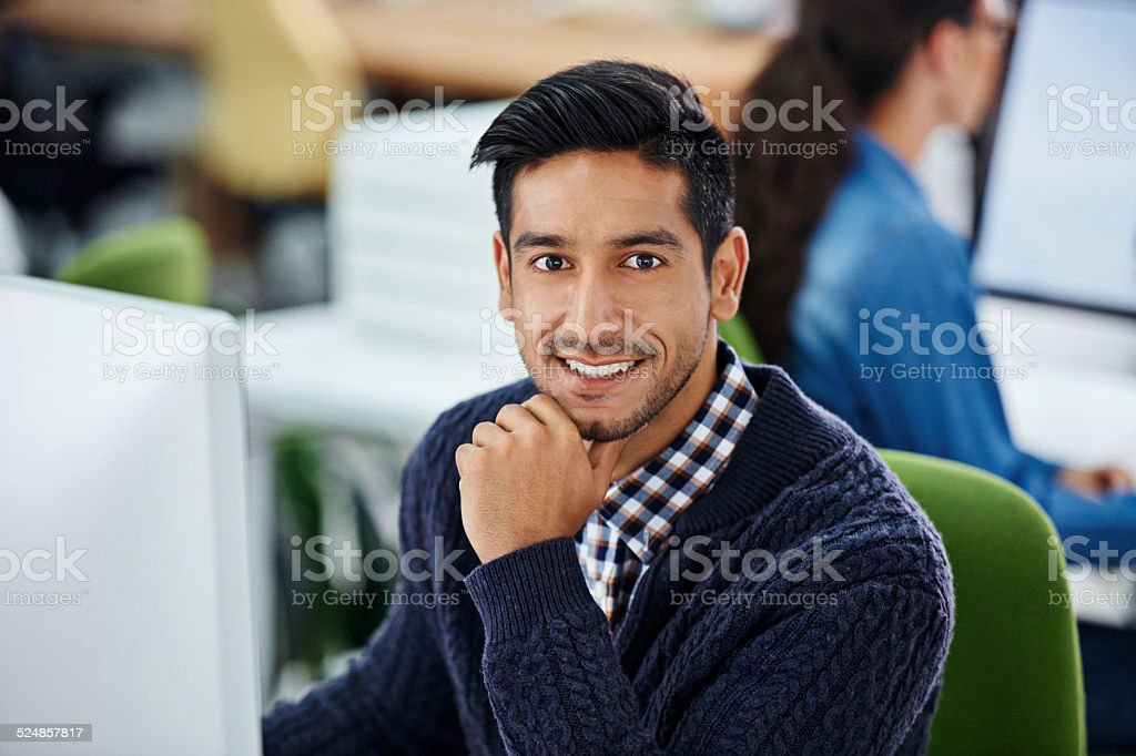 Coming up with a fool-proof plan stock photo