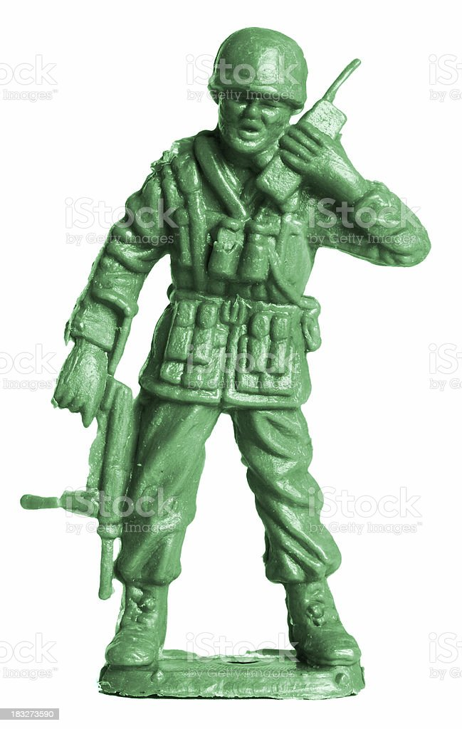 Commander stock photo