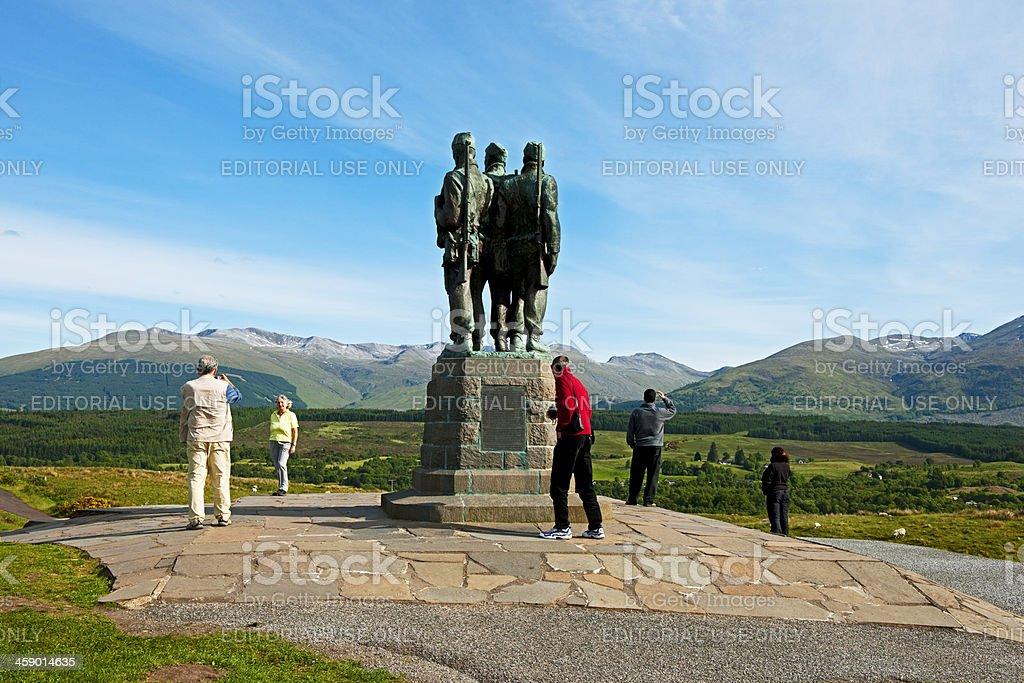 Commando Memorial royalty-free stock photo