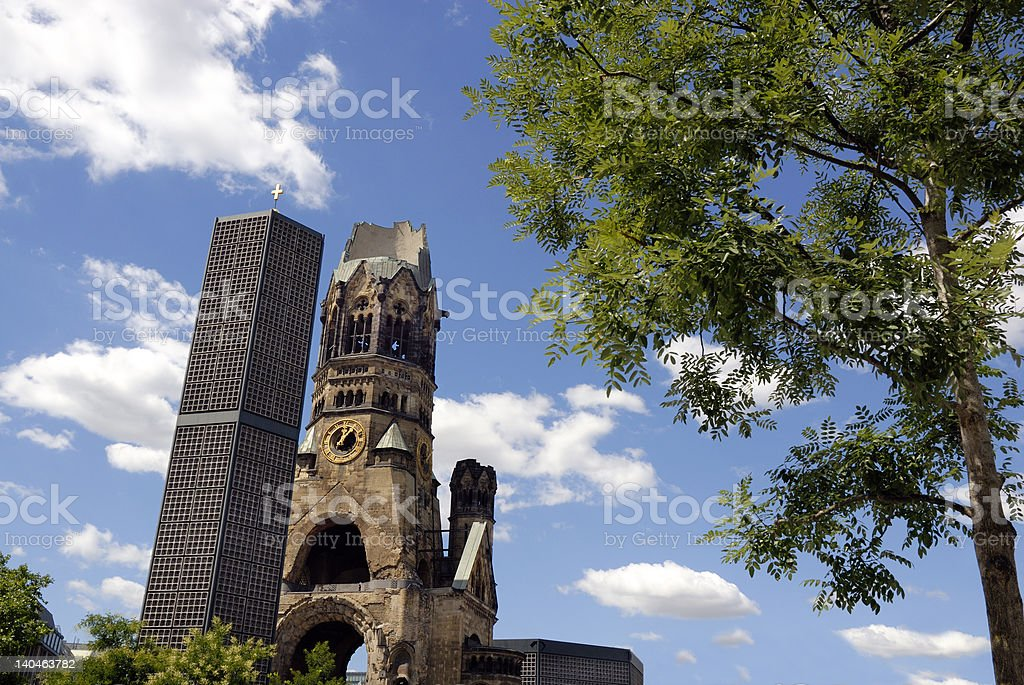 Gedachtnis Kirche Berlin stock photo