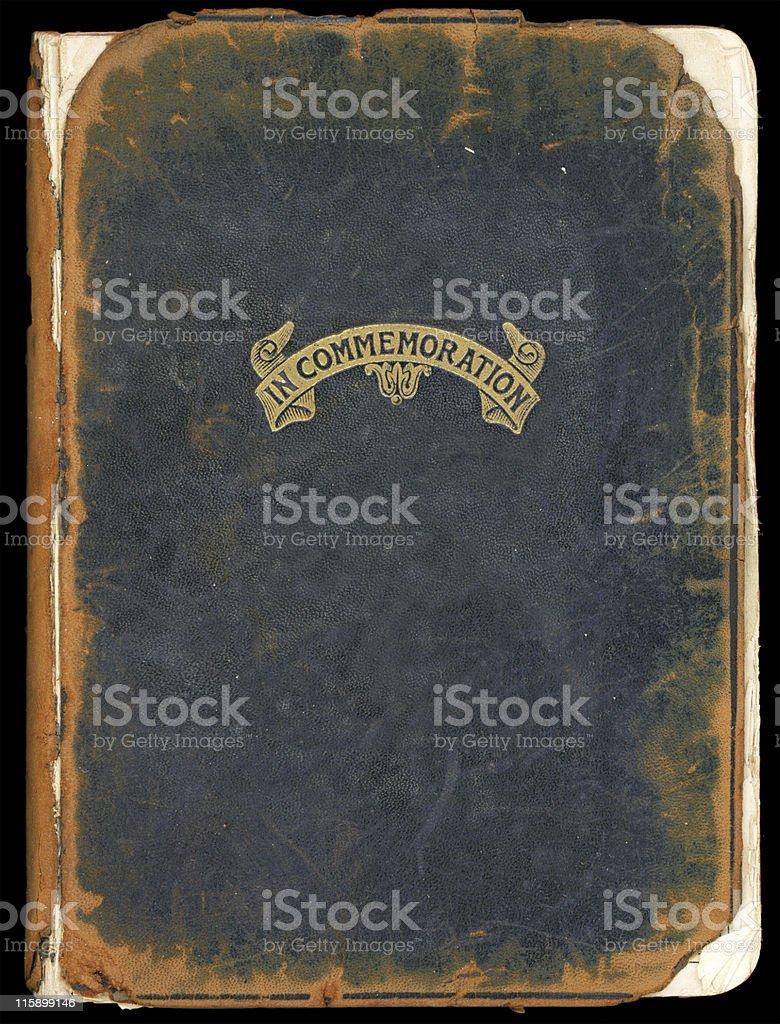Commemorative bible cover stock photo