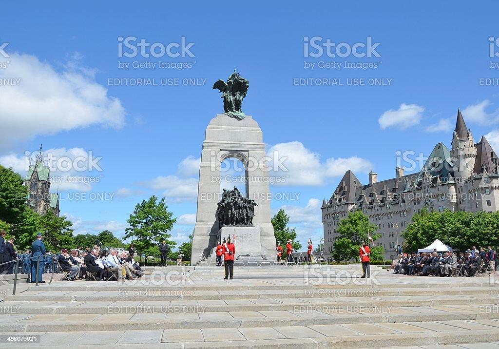 commemorative ceremony stock photo