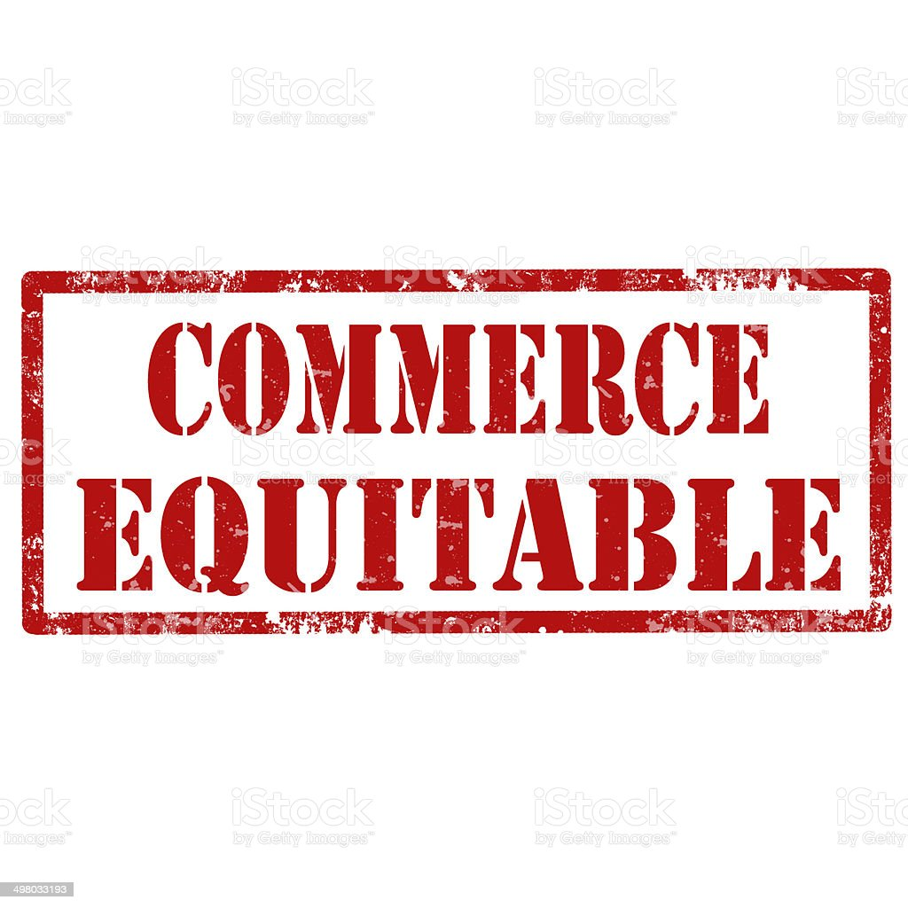 Commerce Equitable-stamp stock photo