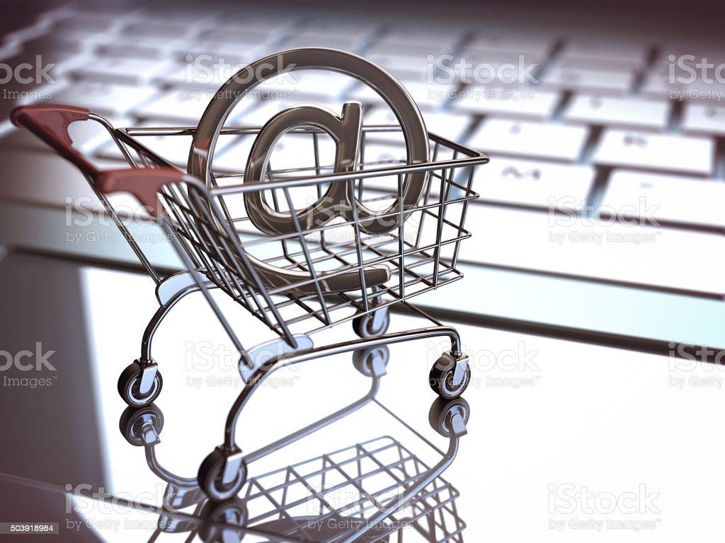E Commerce stock photo