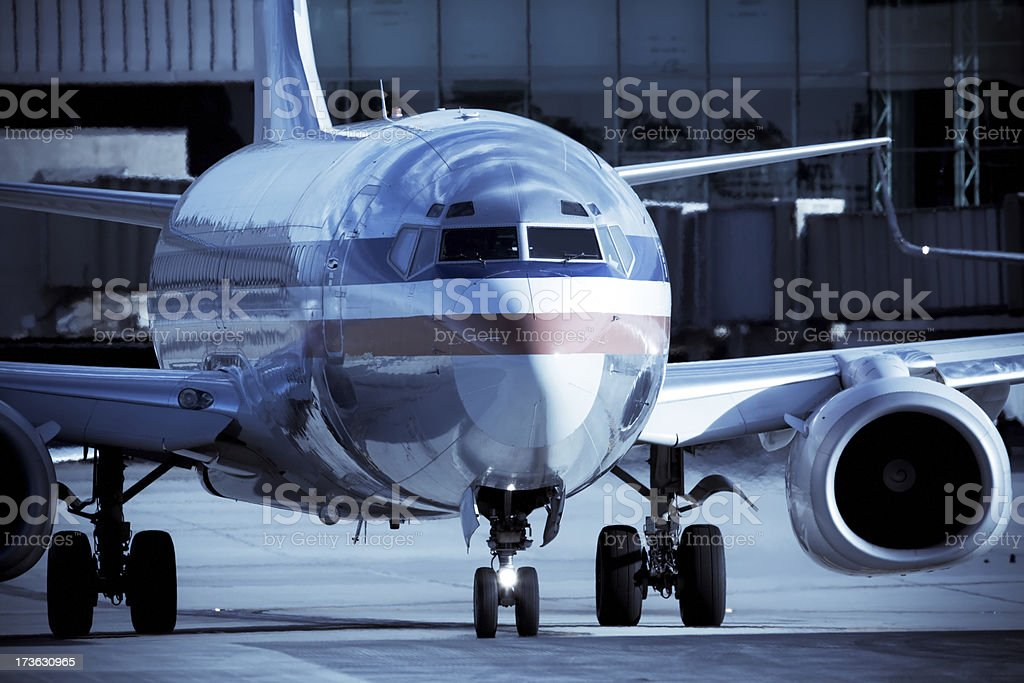 Commercial Air Travel stock photo