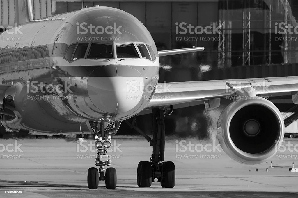 Commercial Aircraft stock photo