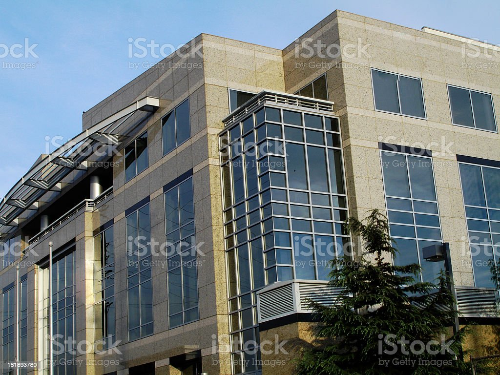 Commercial Building stock photo