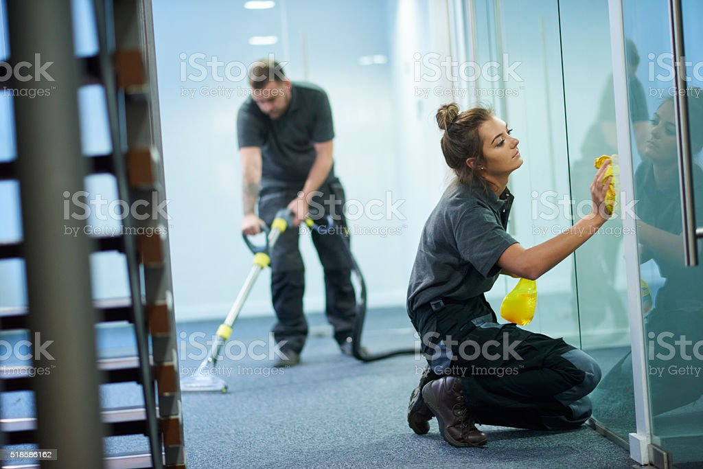 Getting To The Point – Janitors