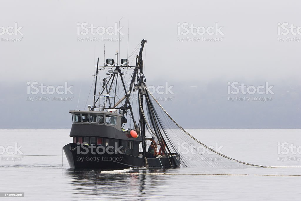 Commercial Fishing boat 2 stock photo