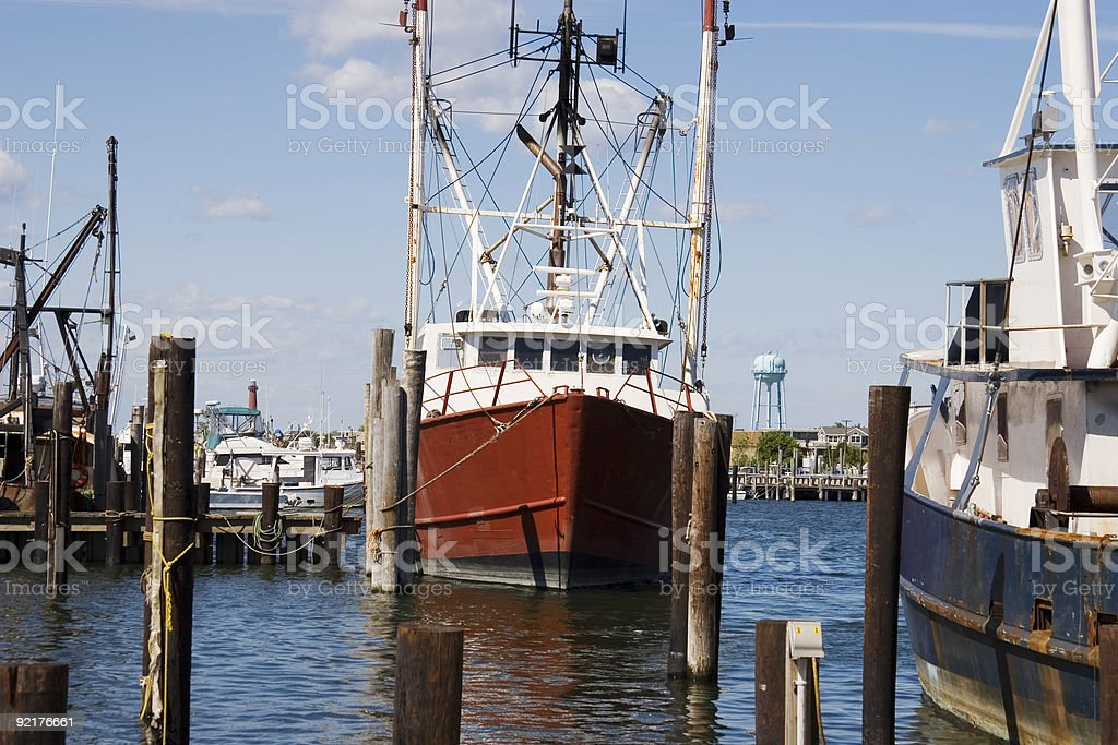 Commercial Fishing Boats - 1 stock photo
