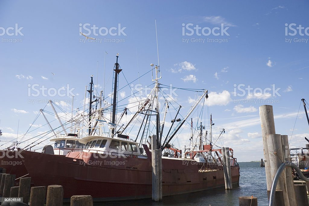 Commercial Fishing Boats - 3 stock photo