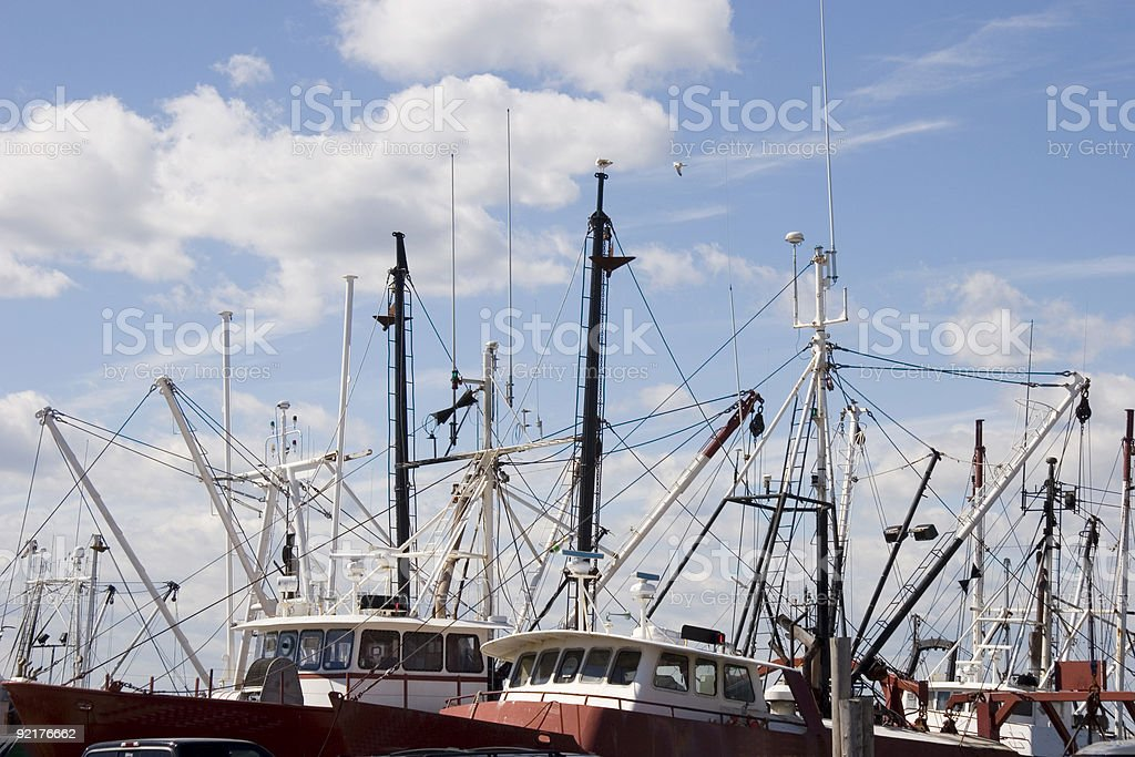 Commercial Fishing Boats - 4 stock photo