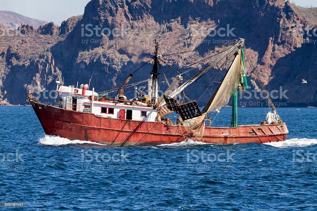 Commercial Fishing Trawler stock photo