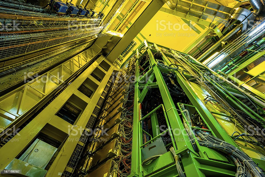 Commercial Gas Pipeline stock photo