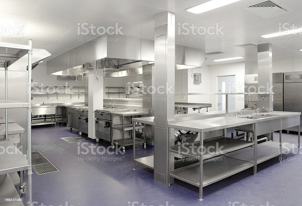 Commercial Kitchen royalty-free stock photo