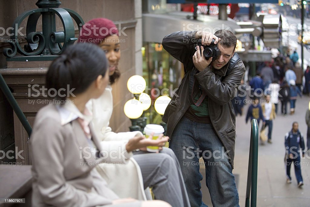 Commercial Photographer royalty-free stock photo