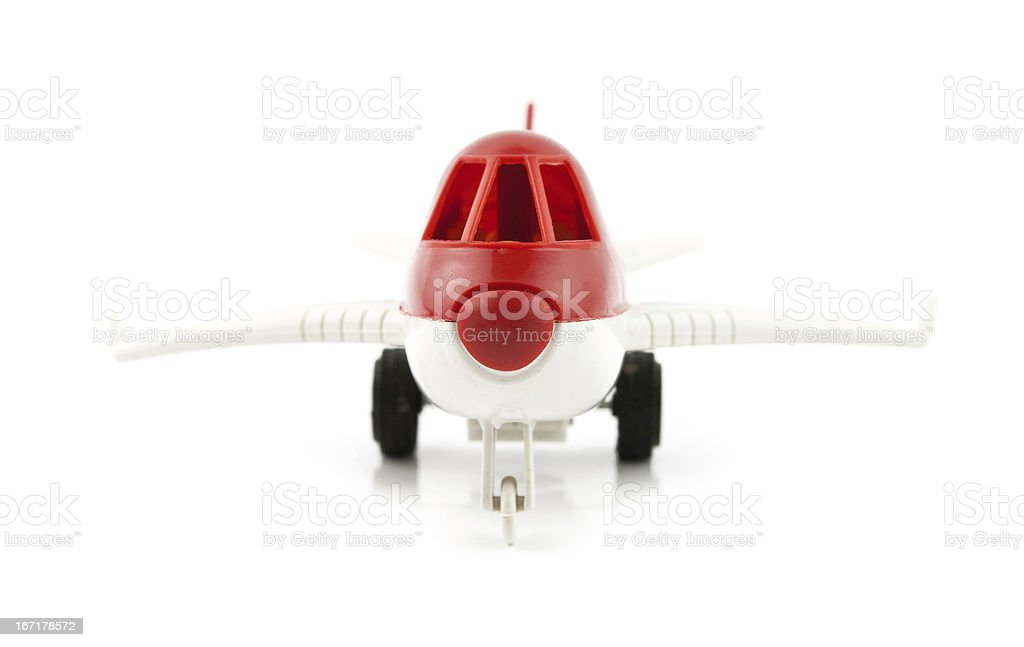 commercial plane royalty-free stock photo