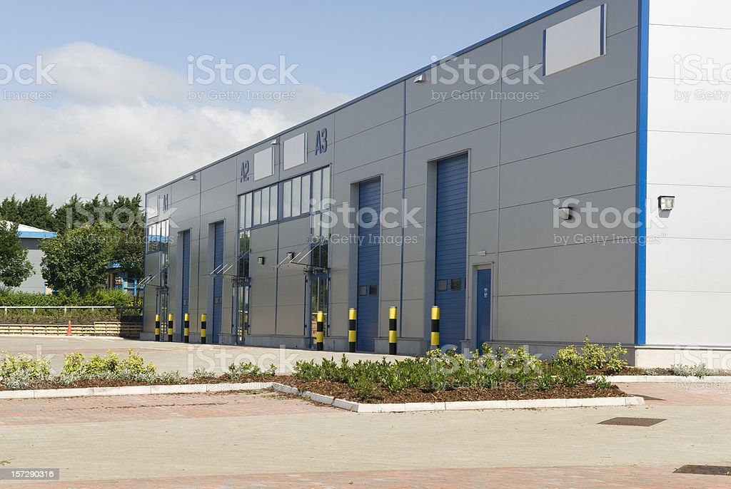 Commercial Property royalty-free stock photo
