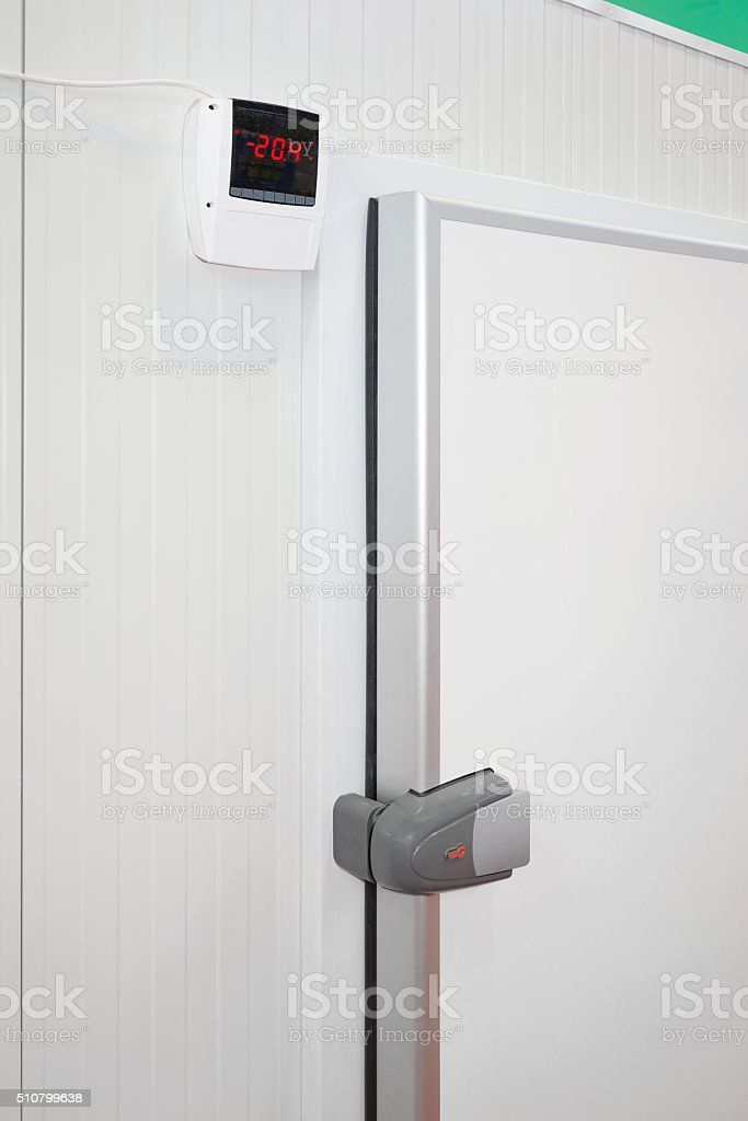 Commercial Refrigerator stock photo