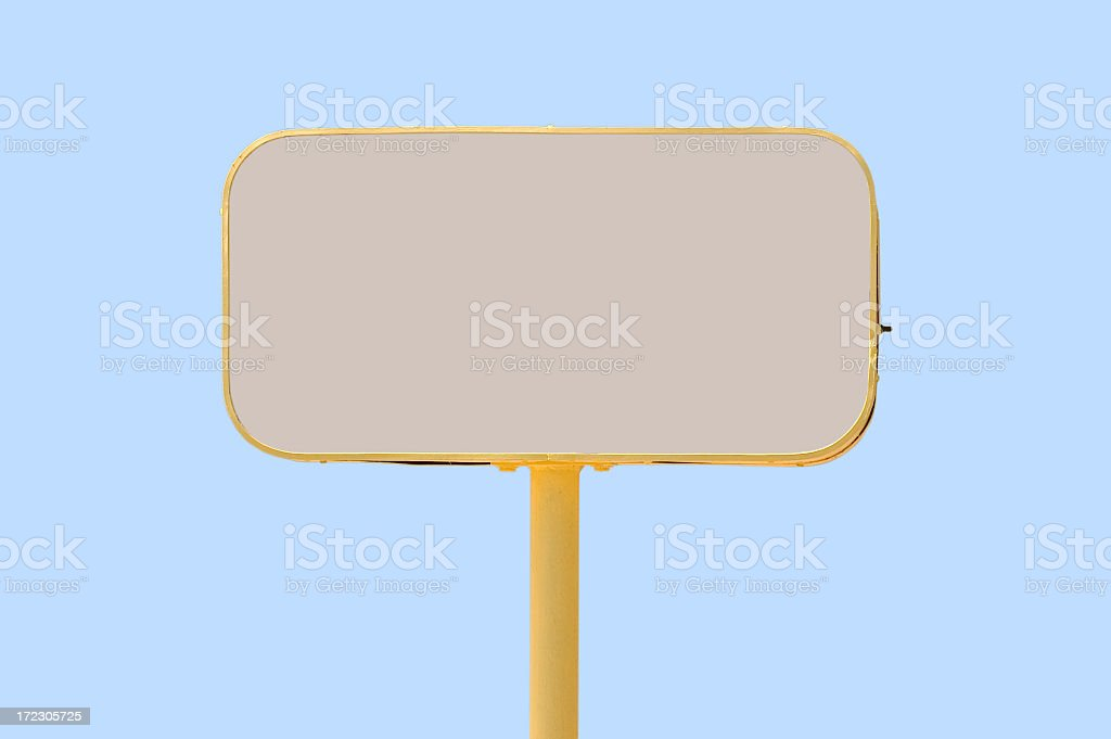 Commercial sign #2 royalty-free stock photo