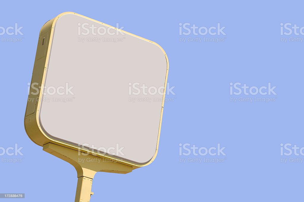 Commercial sign royalty-free stock photo
