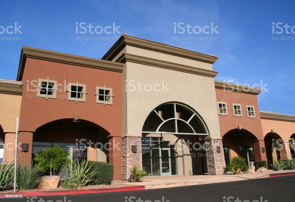 Commercial Store Front royalty-free stock photo
