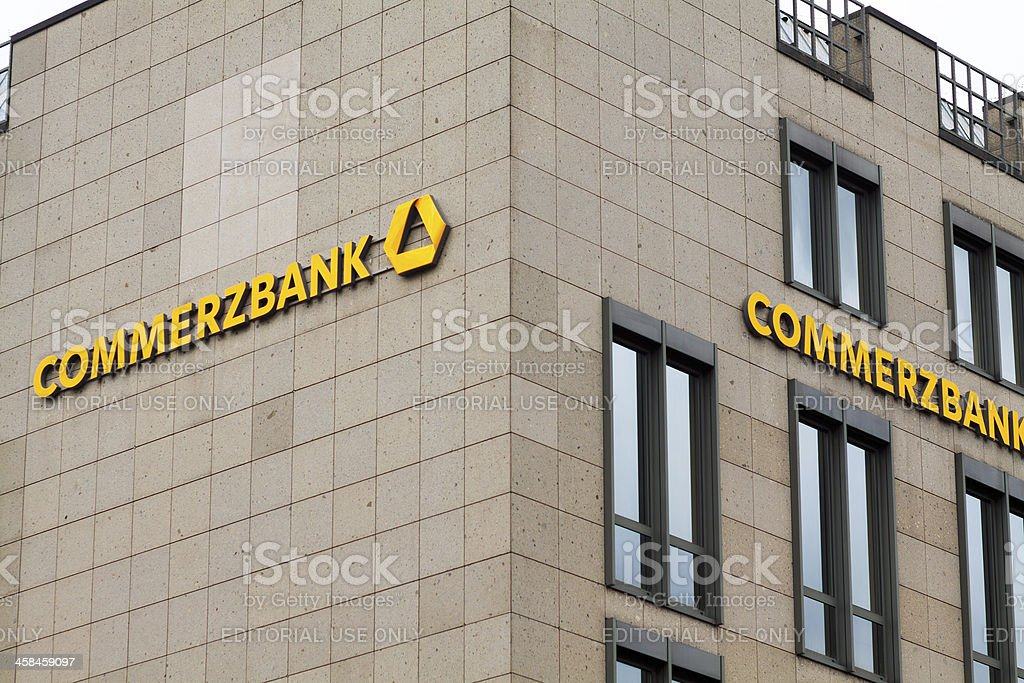 Commerzbank royalty-free stock photo