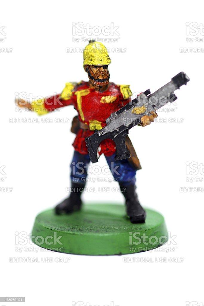 Commissar royalty-free stock photo