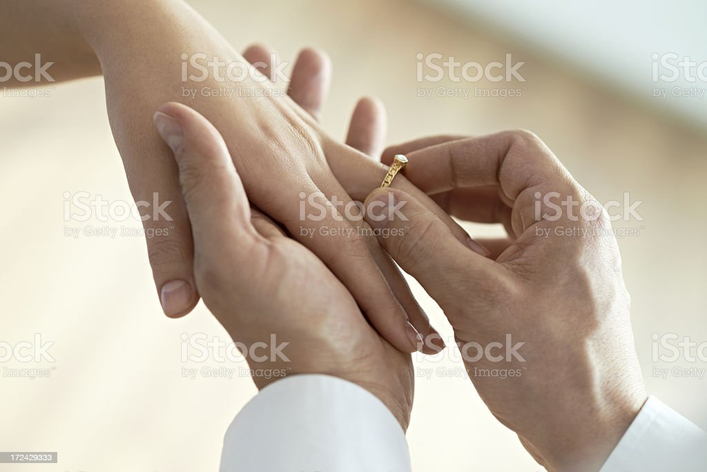 Engagement stock photo