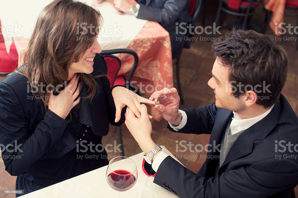 Engagement royalty-free stock photo