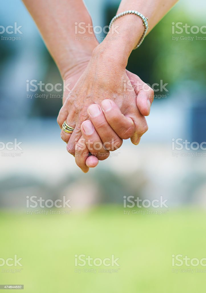 Committed for life stock photo