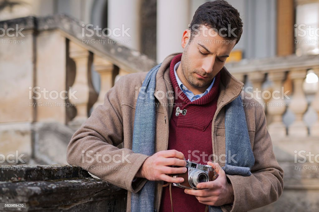 Committed to art stock photo