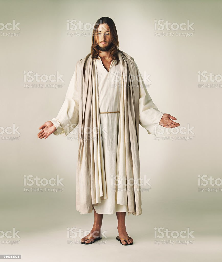 Committed to his calling stock photo