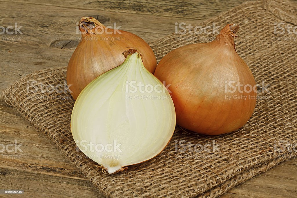 common bulb onions royalty-free stock photo