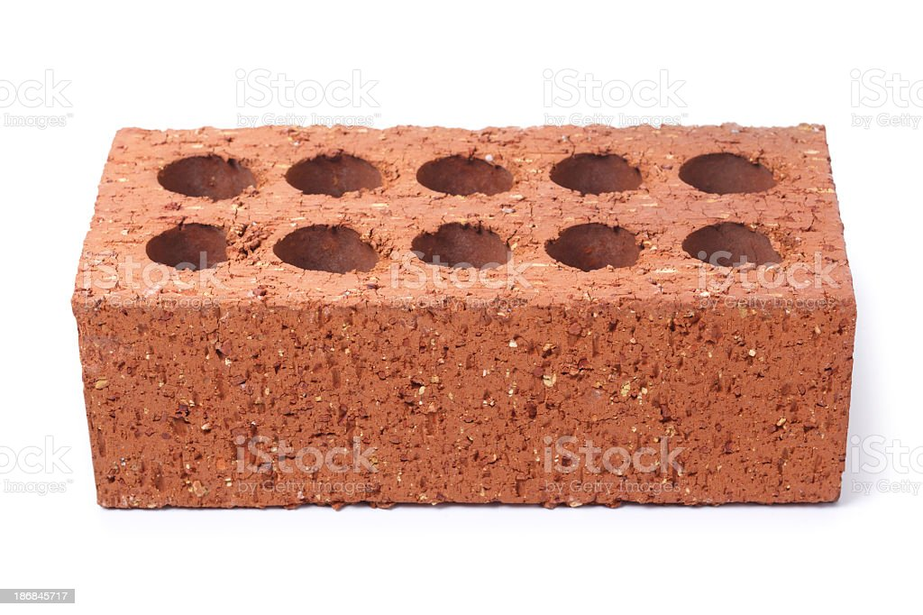 Common House Brick royalty-free stock photo