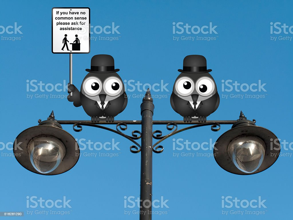 Common Sense stock photo