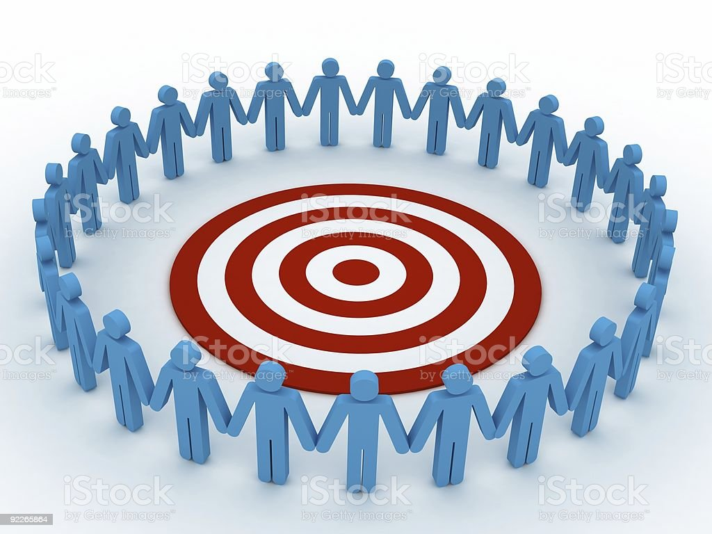Common Target royalty-free stock photo