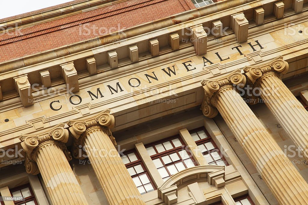 Commonwealth Building royalty-free stock photo