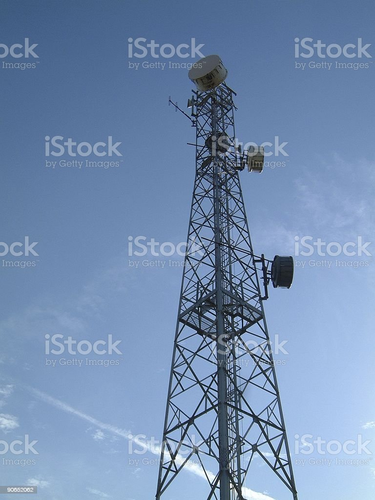 Comms Tower royalty-free stock photo
