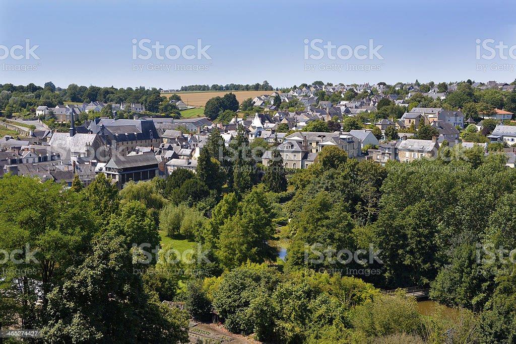 Commune de Vitr? in France stock photo