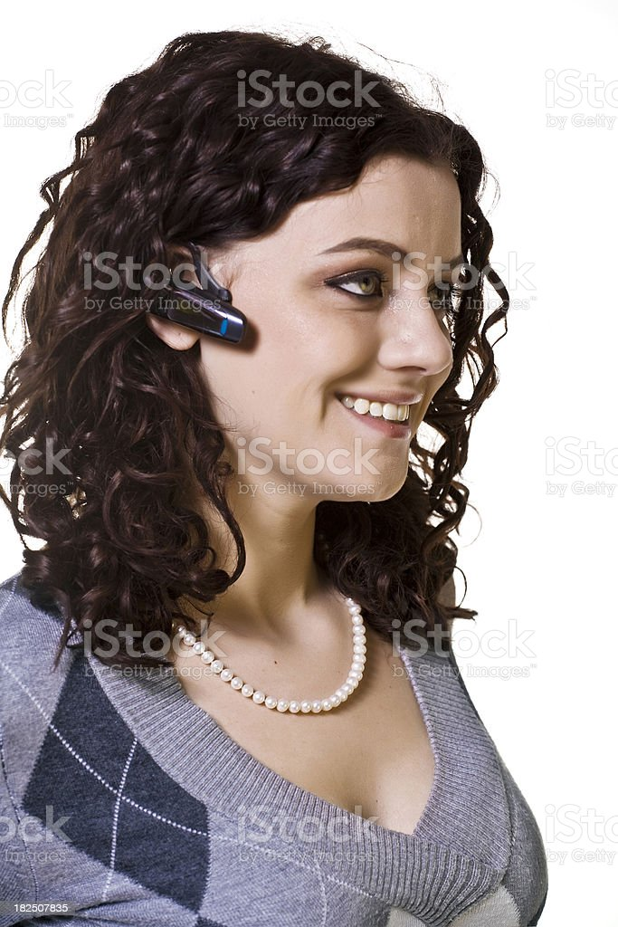 Communicate royalty-free stock photo