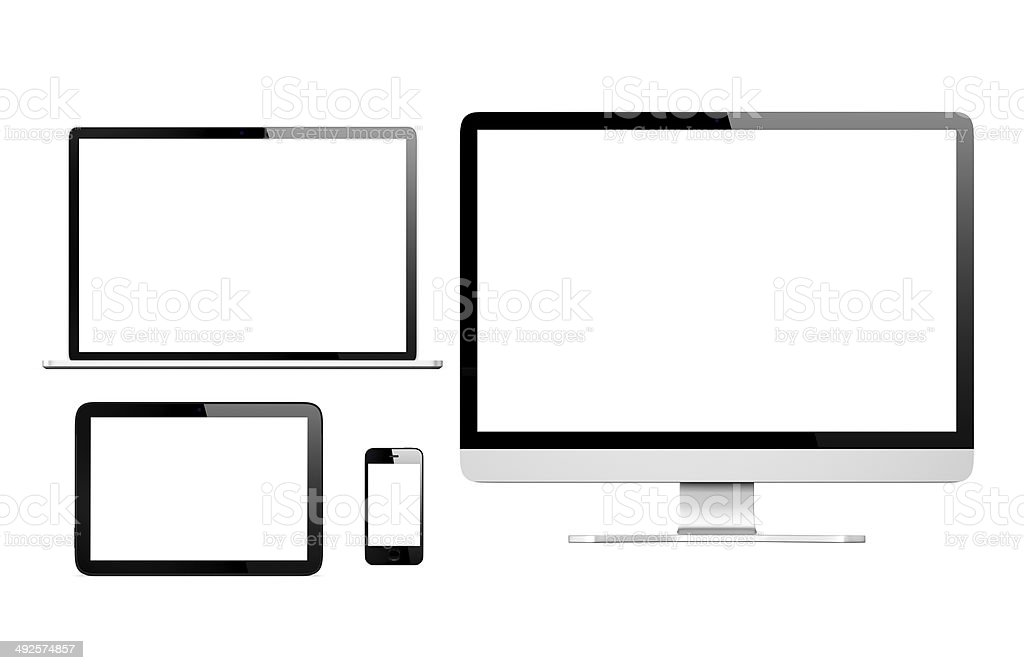 Communication Devices royalty-free stock photo