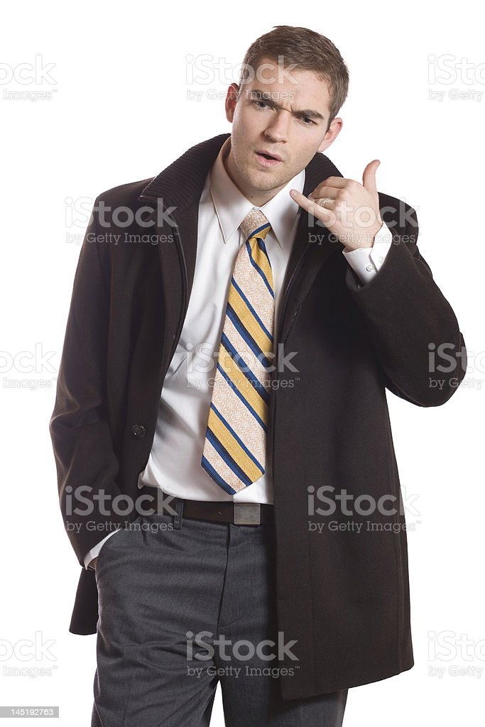 Communication Difficulties royalty-free stock photo